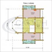 Проект Премьер-3 - План 2 этажа